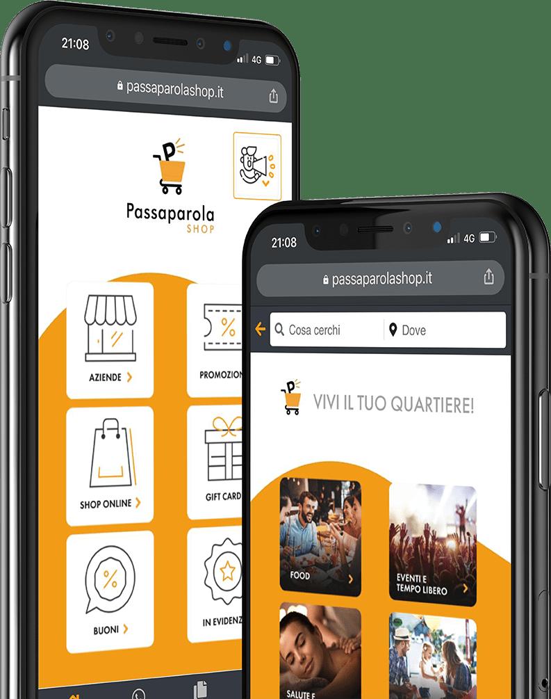 App-PassaparolaShop-Schermata