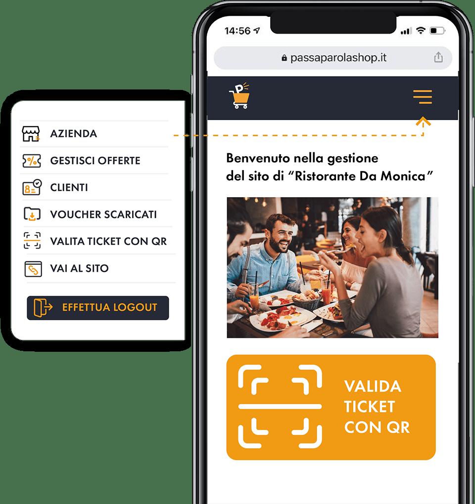 Area-Aziende-Passaparola-Shop-Schermata