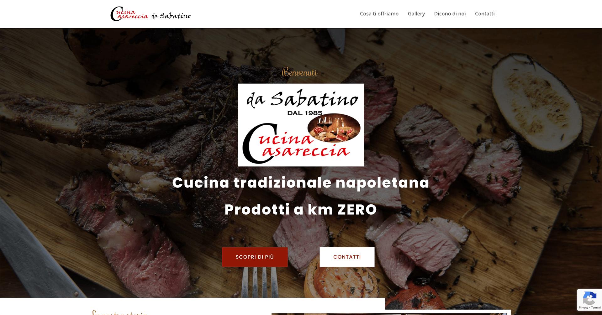 Cucina Casareccia sito